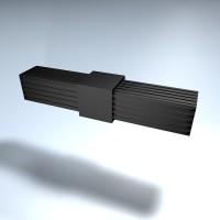 Steckverbinder gerade 25 mm Bund