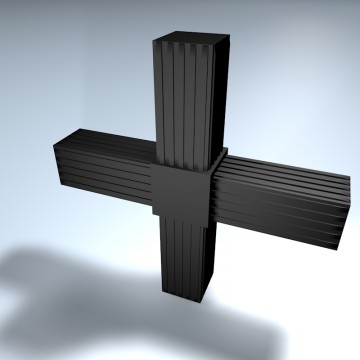 Steckverbinder Kreuz