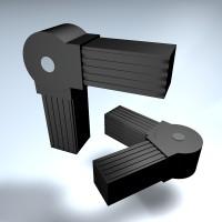 Steckverbinder Winkel drehbar 25 mm 45-195°