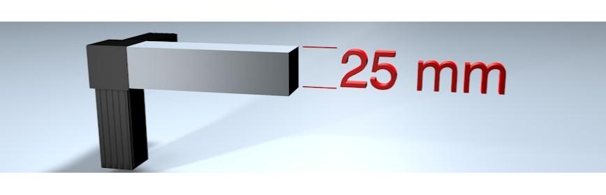 Verbinder für 25 mm